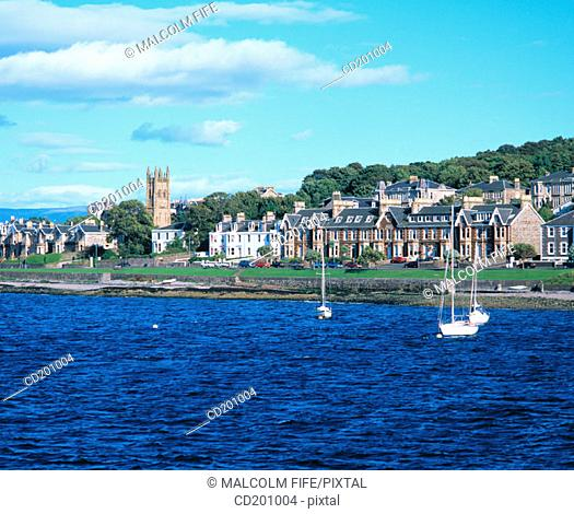 Isle of Bute. Rothesay. Scotland