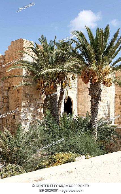 Bordj El Kebir fort in Houmt Souk on Djerba Island, Tunisia, Maghreb, North Africa, Africa