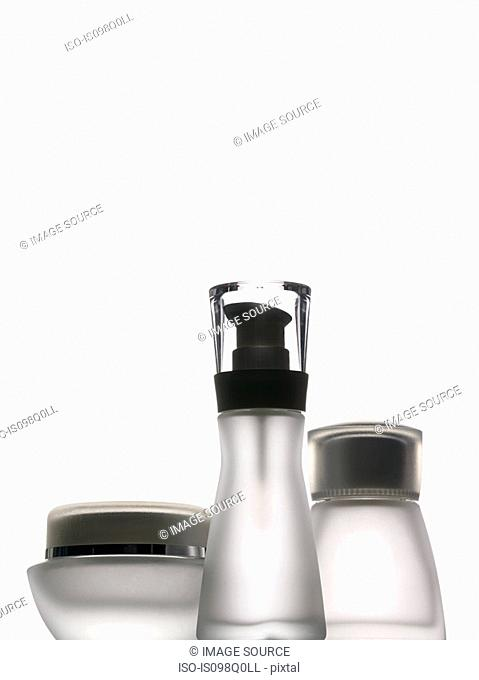 Empty bottles and containers