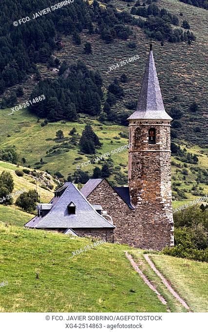 Santuario de Montgarri. Beret. Val d'Aran. Lleida. Cataluña. España