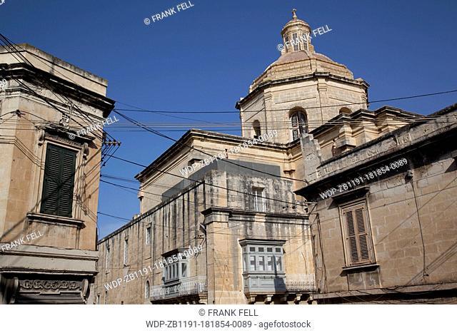 Maltese Islands, Malta, Ta Xbiex, Church & Architecture