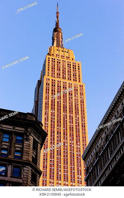 The Empire State Building, Manhattan, New York City, USA