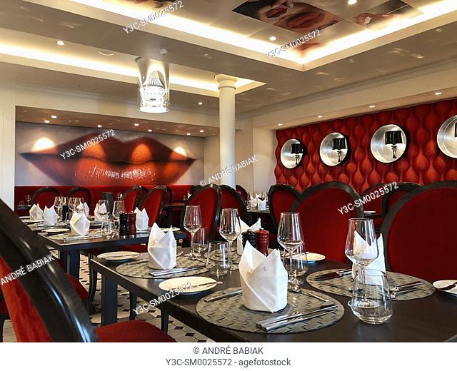 AIDA Prima cruise ship interior, restaurant