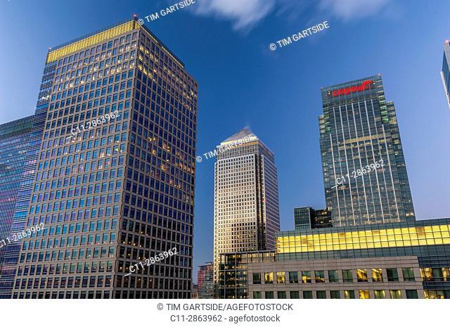 Canary Wharf, London, England,UK