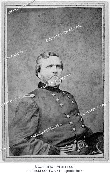 Major General George Henry Thomas Carte De Visite Ca 1862