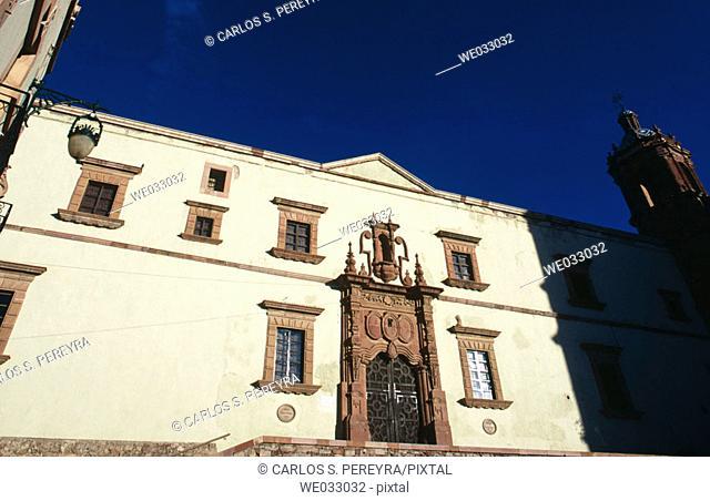 Colonial architecture, Zacatecas. Mexico