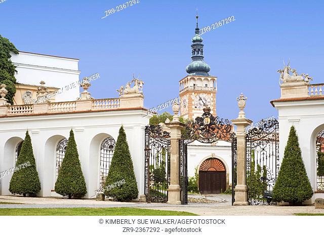 Lichenstein castle, South Moravia, Mikulov, Czech Republic, Europe