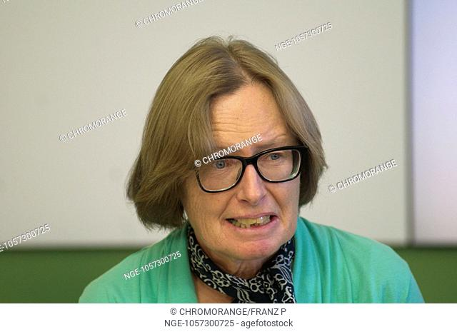 Member of the National Council of the Greens, Gabriele Moser