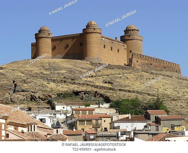 La Calahorra Granada  España  Castillo de la Calahorra  Calahorra Castle