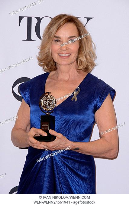 2016 Tony Awards - Press Room Featuring: Jessica Lange Where: New York, New York, United States When: 13 Jun 2016 Credit: Ivan Nikolov/WENN.com