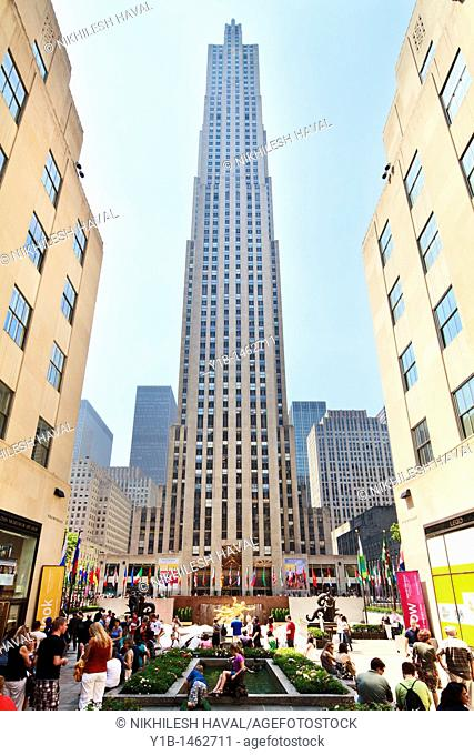 GE Building, Rockefeller center
