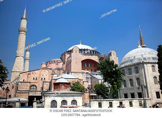 Santa Sofia, Sultanahmet, Istanbul, Marmara, Turkey
