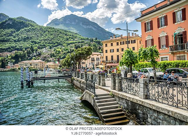 Waterfront of Menaggio at Lake Como, Lombardy, Italy