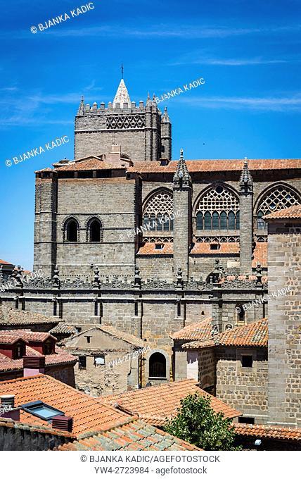 Cathedral, Avila, Castilla y Leon, Spain