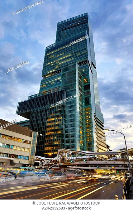 Japan , Kansai,Osaka City, Tennoji District, Abeno Harukas Bldg