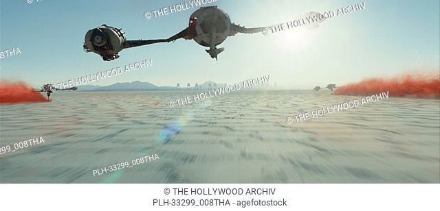 """""""""""""""Star Wars: The Last Jedi"""""""" (2017) Lucasfilm Ltd. Scene Still"""