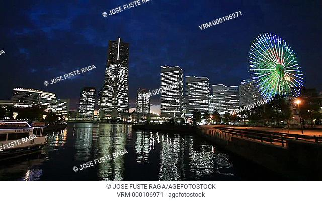Japan, Yokohama City, Yokohama Port,Landmark Bldg