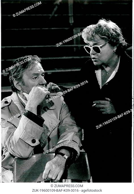 1980 - Munich/West Germany: French Director Patrice Chereau reconstructed the 'Prague Trial '79'; Sometime ago in Paris famous French stage-director Patrice...