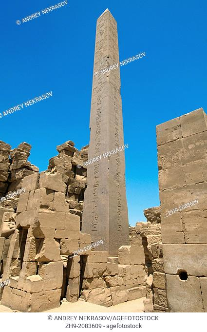 Karnak Temple Complex, Luxor (Thebes), Egypt, Africa