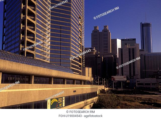 Atlanta, GA, Georgia, downtown, skyline