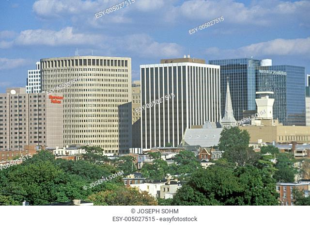 Wilmington skyline, Wilmington, Delaware