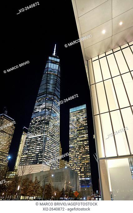 The One World Trade Center. Manhattan, New York City, USA