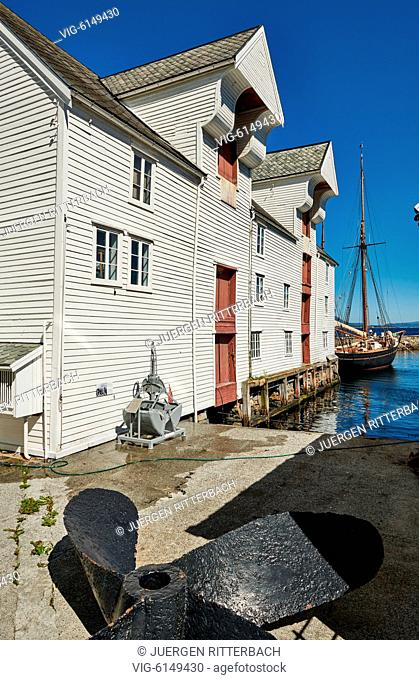NORWAY, ÅLESUND, 30.06.2018, the Fishery museum in Ålesund, Norway, Europe - Ålesund, Møre og Romsdal, Norway, 30/06/2018
