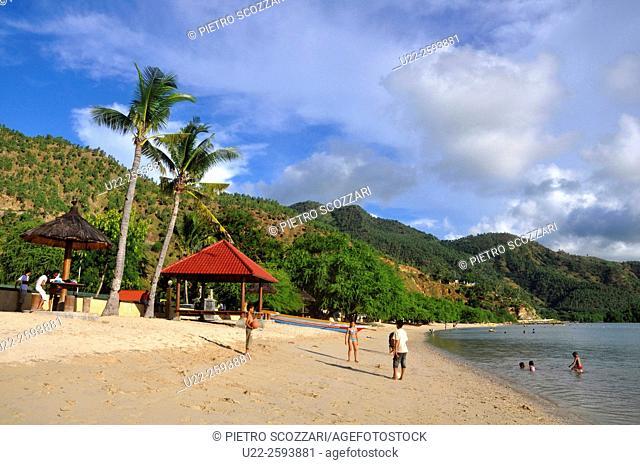 Asia, East Timor, Dili, Areia Branca beach