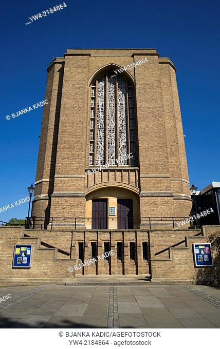 St Mary's University, the main University Chapel, Twickenham, London, UK