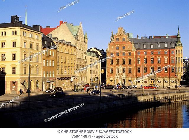 Sweden, Stockholm, Gamla Stan Old town