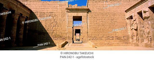 Medinat Habu, Luxor, Egypt