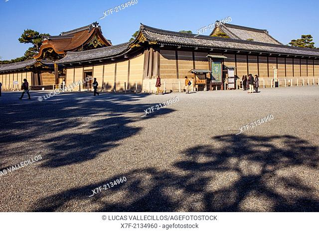 Nijo castle,UNESCO World Heritage Site,Kyoto, Japan