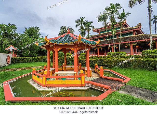 A chinese temple at Bau, Sarawak, Malaysia