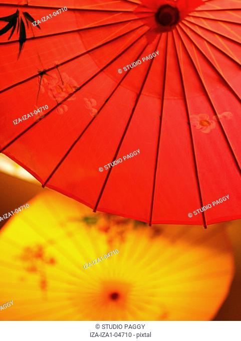 Close-up of a parasol