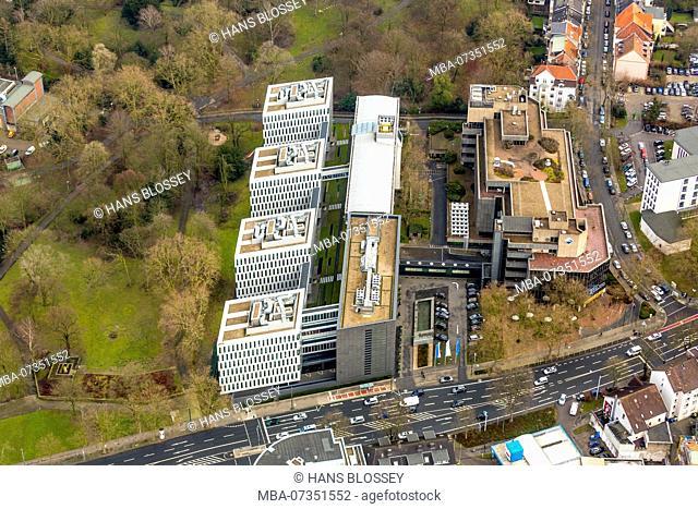 Headquarters of ARAL and BP in Bochum, refinery operator, petrol producer, petrol station operator, Bochum, Ruhr area, North Rhine-Westphalia, Germany