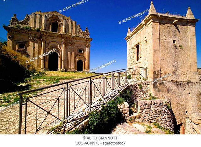 San Matteo Church, Scicli, Province of Ragusa, Sicily, Italy, Europe UNESCO World Heritage Sites