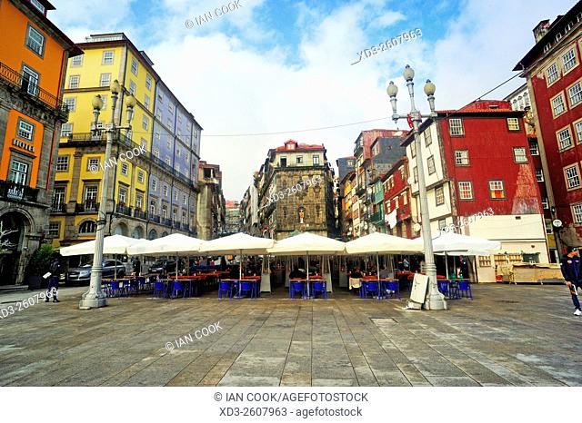 Praca Ribeira, Ribeira district, Porto, Portugal