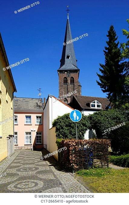 Germany, Nettetal, Maas-Schwalm-Nette Nature Park, Schwalm-Nette Nature Park, Lower Rhine, Rhineland, North Rhine-Westphalia, NRW, Nettetal-Kaldenkirchen