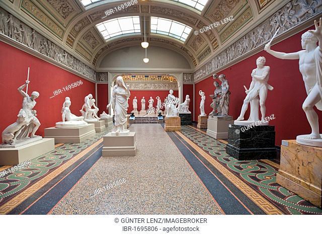 Ny Carlsberg Glyptotek art museum, Copenhagen, Denmark, Zealand, Europe