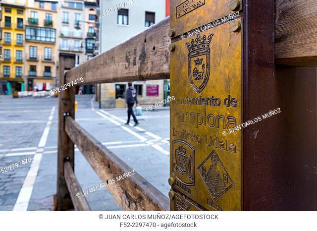 The festival of San Fermín, Pamplona, Navarra, Spain, Europe