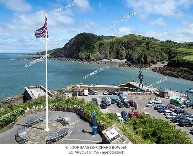 Entry to Ilfracombe harbour