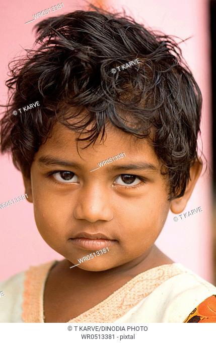 Portrait of a girl , Salunkwadi , Ambajogai , Beed , Maharashtra , India MR688