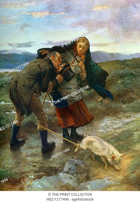 'The Last Match', 1887, (1912). A colour print from Famous Paintings, with an introduction by Gilbert Chesterton, Cassell and Company, (London, New York