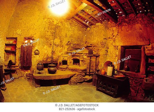 Bodegas Santiago Ruiz, museum of the winery. O Rosal, Rías Baixas, Pontevedra province. Spain