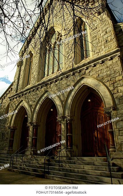 Lambertville, NJ, New Jersey, Historic Downtown, St. John The Evangelist Church