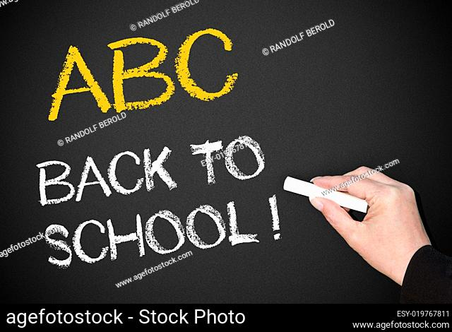 ABC - Back to school !