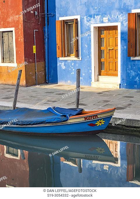 Reflections, Island of Burano, Venice, Italy