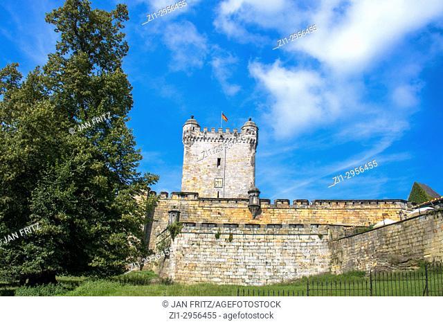 Medieval Bentheim castle, Germany