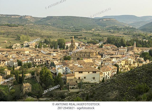 Rubielos de Mora. Camino del Cid. Aragón. Spain