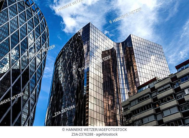 Skyscrapers at Paris-La Défense, France